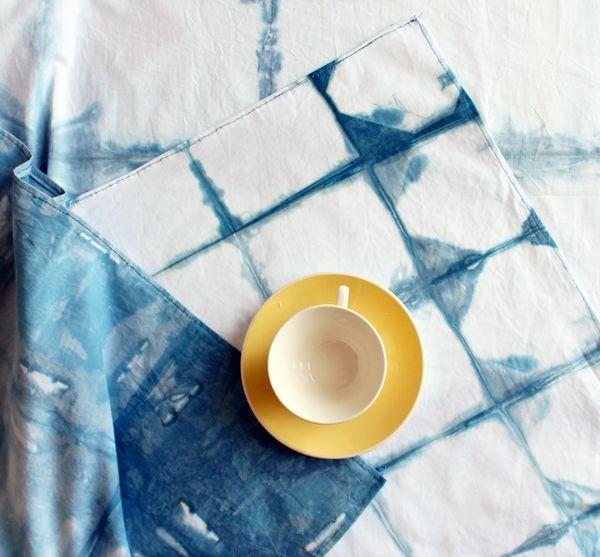 credits: http://crafts.tutsplus.com/tutorials/how-to-make-a-checkered-shibori-tablecloth--cms-21746