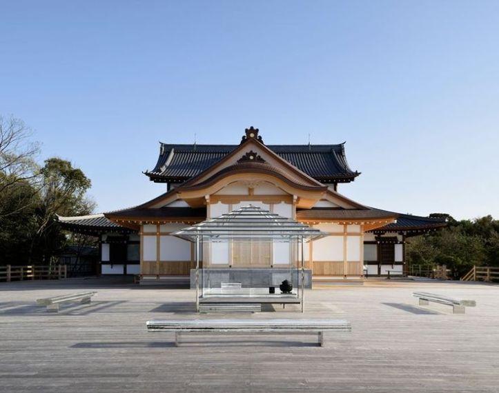 KOU-AN Glass-Tea House  copyright Yasutake Kondo
