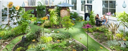 Credits: The Fairy Tale Garden at Hôtel Droog Photographer: Thijs Wolzak www.droog.com