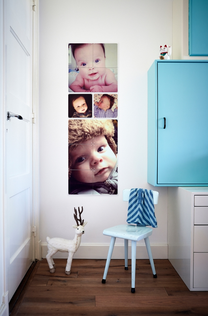 IXXI collage Family baby 'Ties'