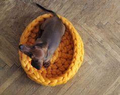 Chunky knit blanket 04