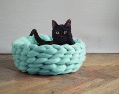 Chunky knit blanket 08