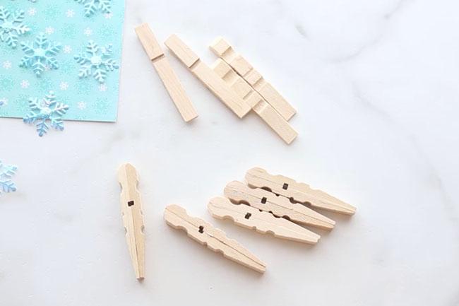 glue-clothespins-snowflakes