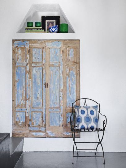 Riutilizzo di una vecchia porta