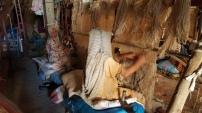 Lavorazione tappeti Beni Ourain, Marocco
