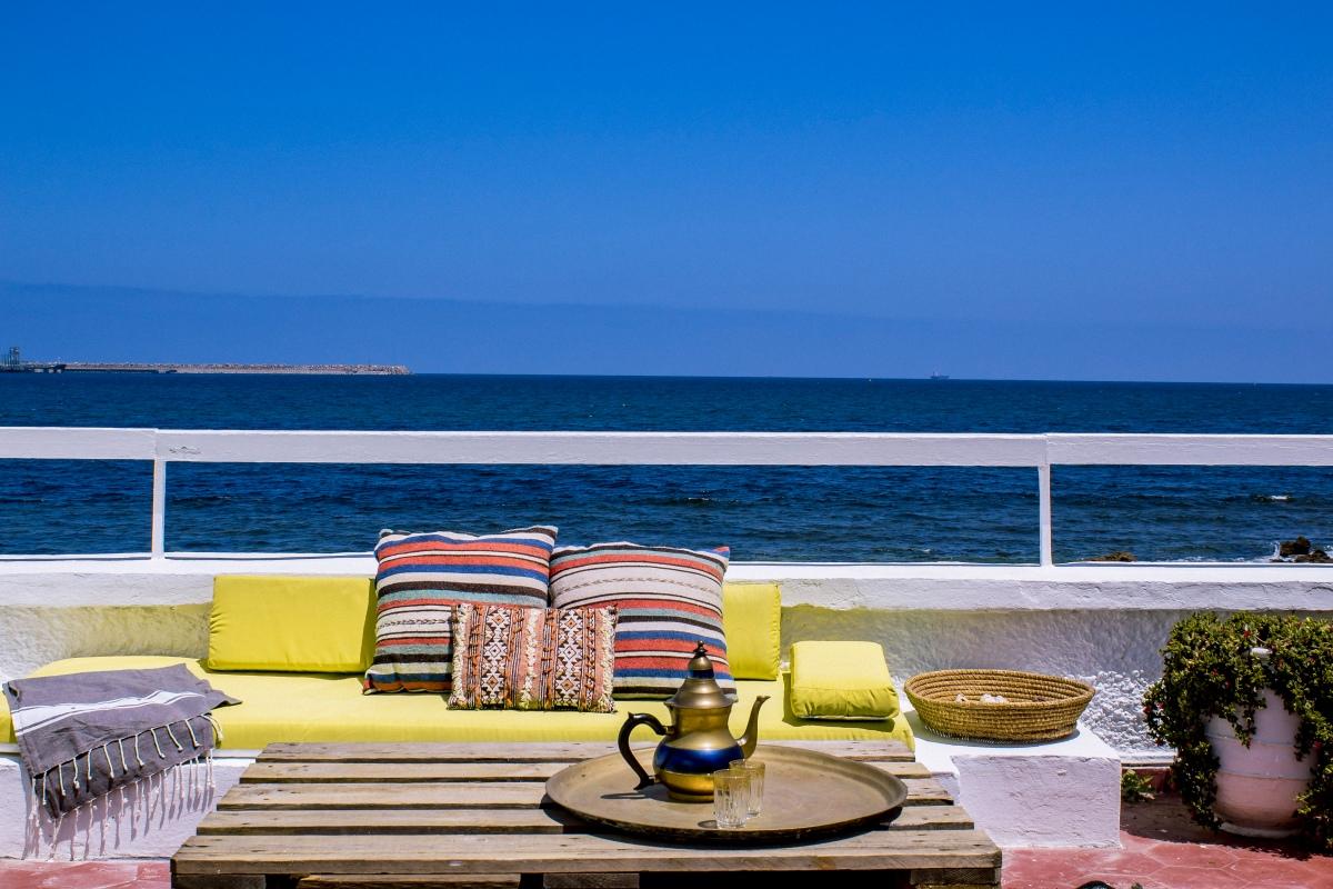 Una terrazza sull'Oceano